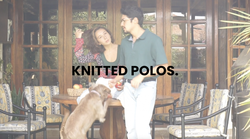 Knitted Polos, fall trends, 2021